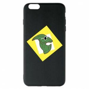 Etui na iPhone 6 Plus/6S Plus Dinozaur w okularach