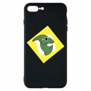 Etui do iPhone 7 Plus Dinozaur w okularach