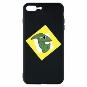 Etui na iPhone 8 Plus Dinozaur w okularach