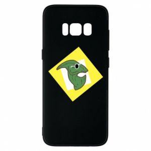 Etui na Samsung S8 Dinozaur w okularach