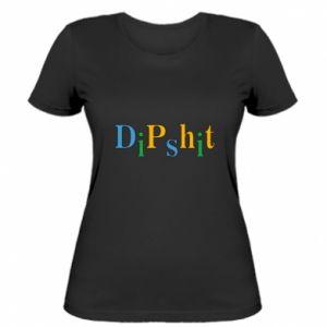 Damska koszulka Dipshit