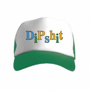 Czapka trucker dziecięca Dipshit