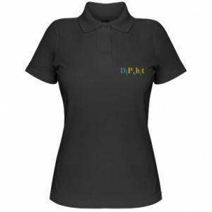 Damska koszulka polo Dipshit