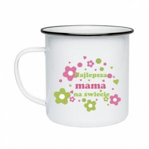Enameled mug The best mom in the world