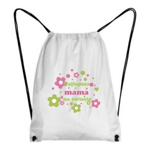 Plecak-worek Najlepsza mama na świecie
