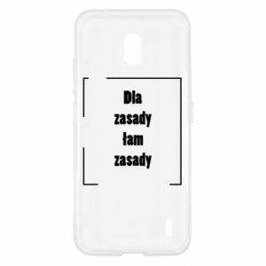 Etui na Nokia 2.2 Dla zasady łam zasady