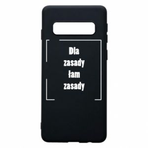 Phone case for Samsung S10 I'm breaking the rules