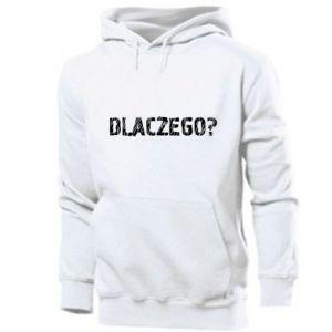 Men's hoodie Why
