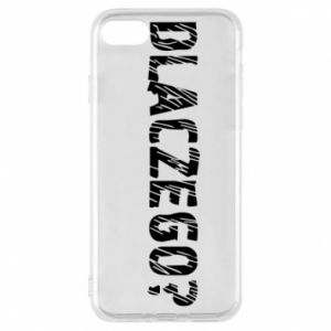 Phone case for iPhone 7 Why - PrintSalon
