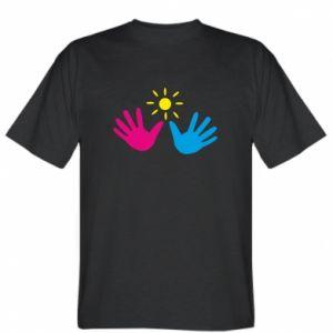 T-shirt Palms of hands
