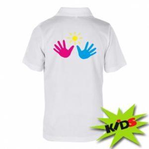 Children's Polo shirts Palms of hands