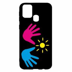 Etui na Samsung M31 Dłonie