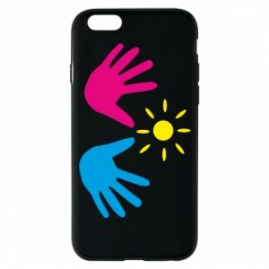 Phone case for iPhone 6/6S Palms of hands