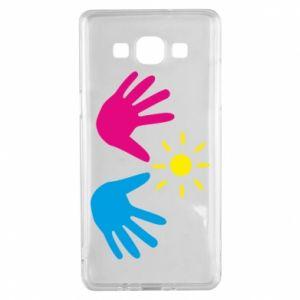 Etui na Samsung A5 2015 Dłonie