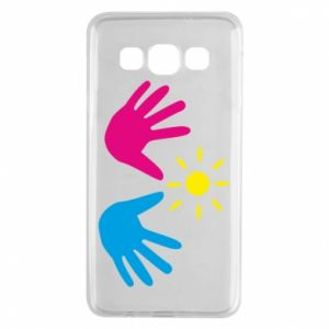 Etui na Samsung A3 2015 Dłonie