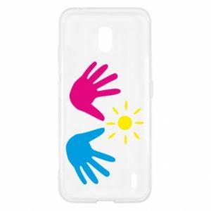 Etui na Nokia 2.2 Dłonie