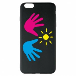 Phone case for iPhone 6 Plus/6S Plus Palms of hands
