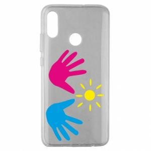 Etui na Huawei Honor 10 Lite Dłonie