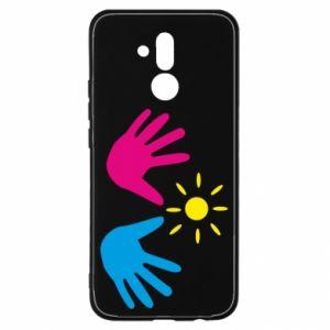 Etui na Huawei Mate 20 Lite Dłonie
