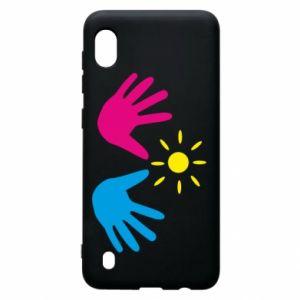 Etui na Samsung A10 Dłonie