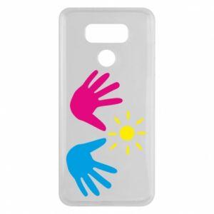 Etui na LG G6 Dłonie