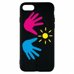 Etui na iPhone SE 2020 Dłonie