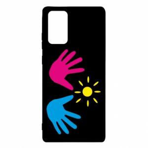 Etui na Samsung Note 20 Dłonie