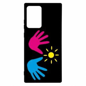 Etui na Samsung Note 20 Ultra Dłonie