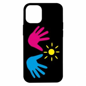 Etui na iPhone 12 Mini Dłonie