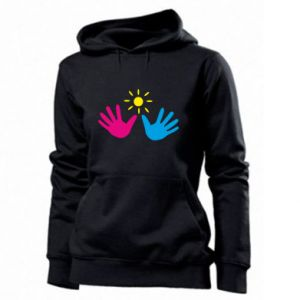 Women's hoodies Palms of hands
