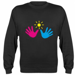 Sweatshirt Palms of hands