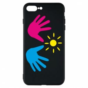 Phone case for iPhone 8 Plus Palms of hands