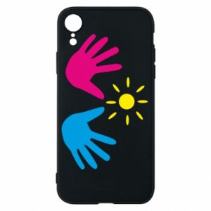 Phone case for iPhone XR Palms of hands