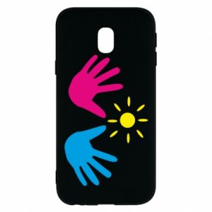Phone case for Samsung J3 2017 Palms of hands