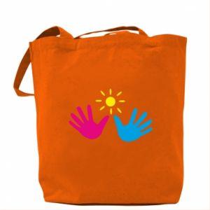 Bag Palms of hands