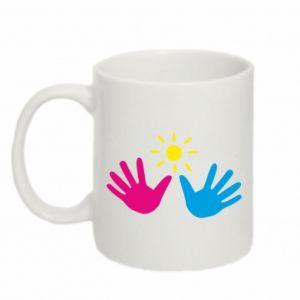 Mug 330ml Palms of hands