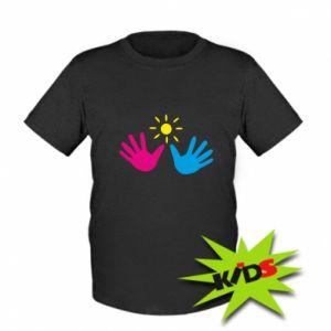 Kids T-shirt Palms of hands
