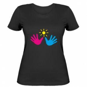 Women's t-shirt Palms of hands