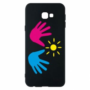 Phone case for Samsung J4 Plus 2018 Palms of hands