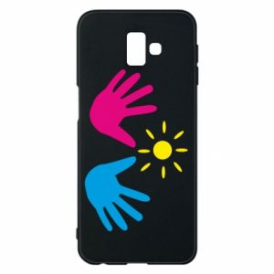Phone case for Samsung J6 Plus 2018 Palms of hands