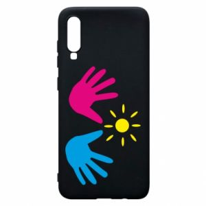 Phone case for Samsung A70 Palms of hands