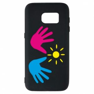 Phone case for Samsung S7 Palms of hands
