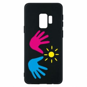 Phone case for Samsung S9 Palms of hands