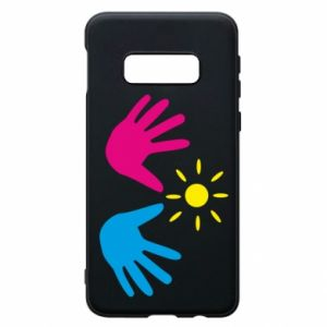 Phone case for Samsung S10e Palms of hands