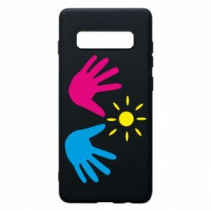 Phone case for Samsung S10+ Palms of hands