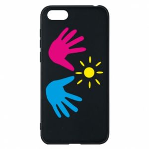 Phone case for Huawei Y5 2018 Palms of hands
