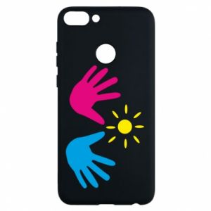 Phone case for Huawei P Smart Palms of hands