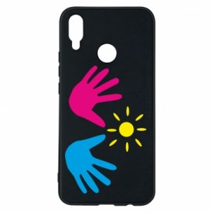 Phone case for Huawei P Smart Plus Palms of hands