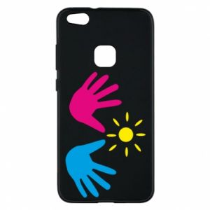 Phone case for Huawei P10 Lite Palms of hands