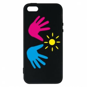 Phone case for iPhone 5/5S/SE Palms of hands